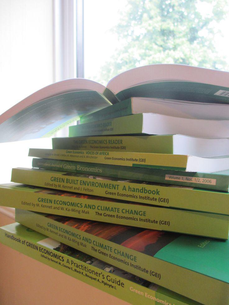 Green Economics Institute's Bookshop - Green EconomicsGreen