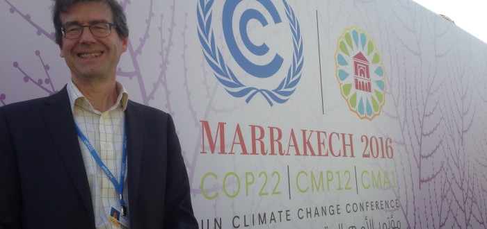 Climate Economics COP22 Green Economics Institute Team Delegate Member