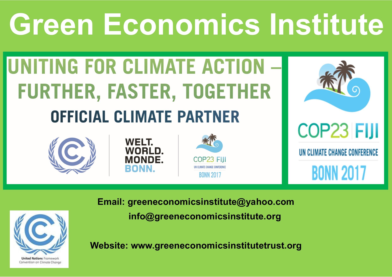 green economics cop 23 a3 poster 2