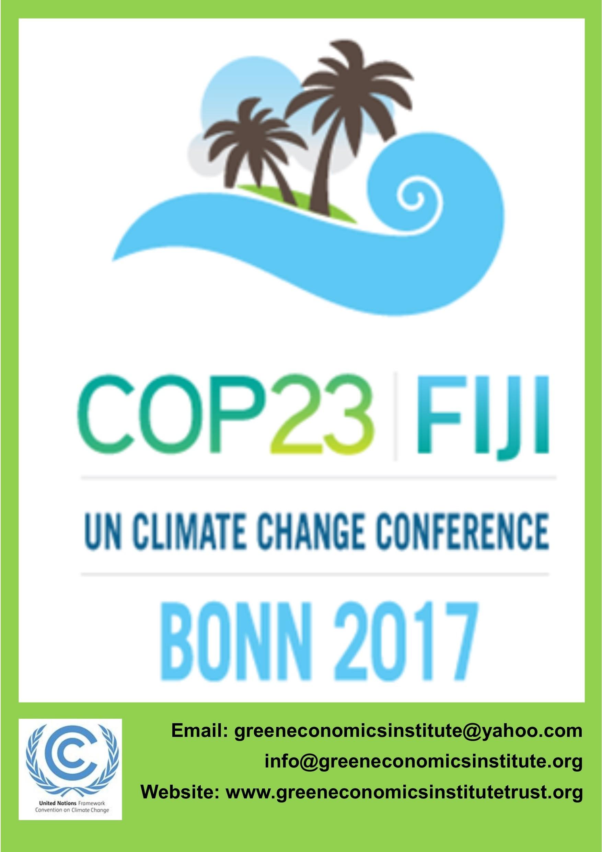 green economics cop 23 a3 poster 3